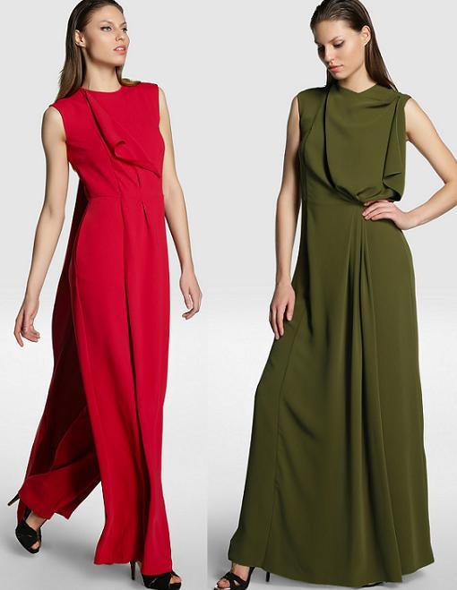 elogy juanjo oliva monos de vestir otoño invierno 2014 2015