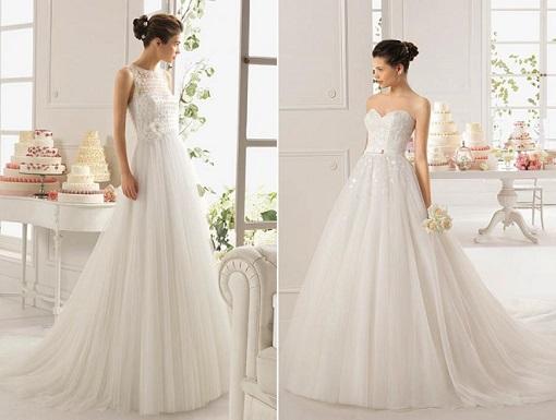 nuevos vestidos de novia aire barcelona 2015 en el corte inglés