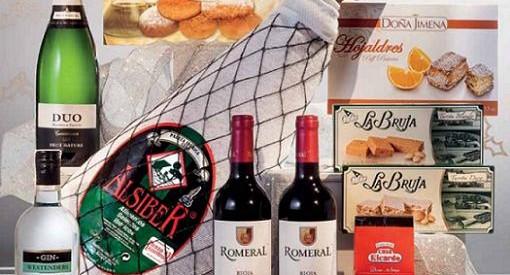 cestas navidad el corte ingles 2014