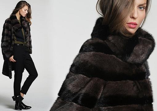 abrigo piel corte inglés