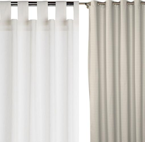 Nuevas cortinas el corte ingl s modernas y baratas para for Cortinas confeccionadas baratas
