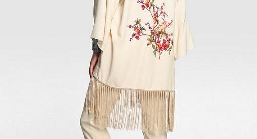kimonos capas y ponchos el corte ingles del invierno 2015