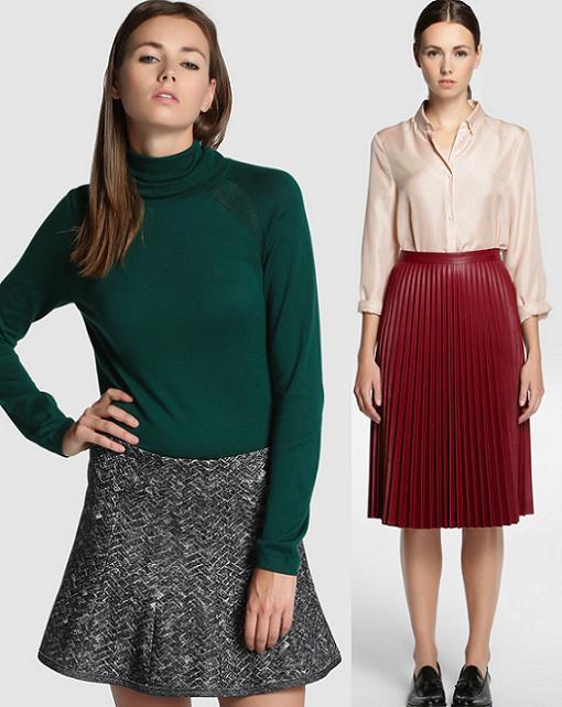 tintoretto moda faldas