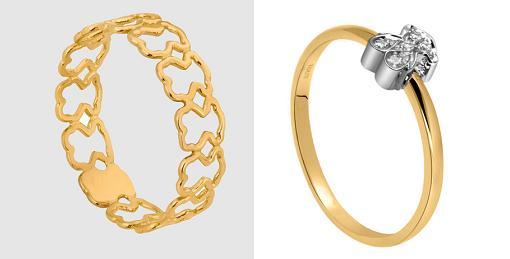 anillos de oro