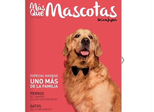 más que mascotas: nueva revista del corte inglés sobre animales