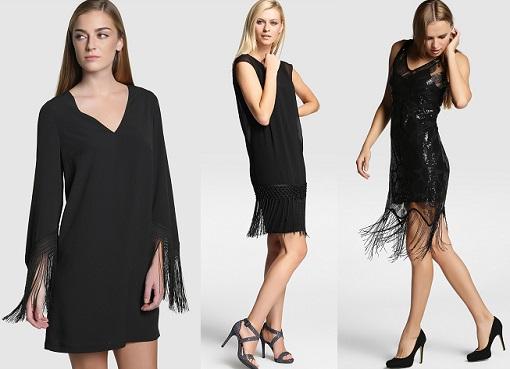 vestidos de flecos fin de año