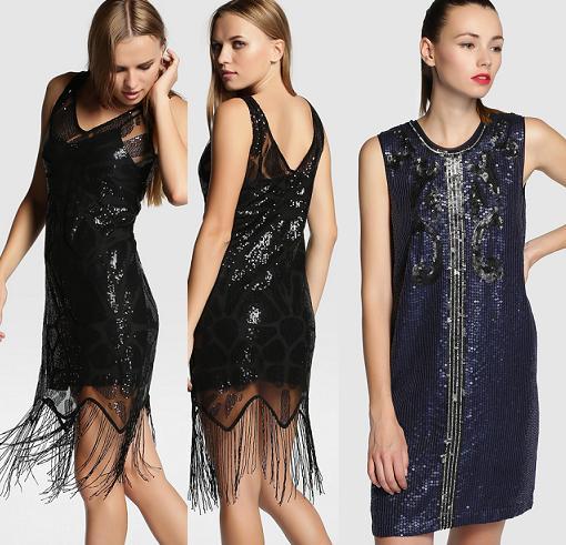 vestidos de lentejuelas tintoretto nochevieja 2015