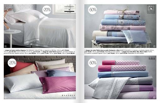 Blancolor 2015 m s ofertas en textiles para el hogar hasta el 28 de febrero fans de el corte - Ropa de cama el corte ingles ...