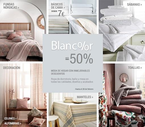 Blancolor 2015 m s ofertas en textiles para el hogar - Blancolor corte ingles 2017 ...