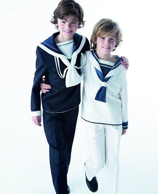 trajes de comunion niño