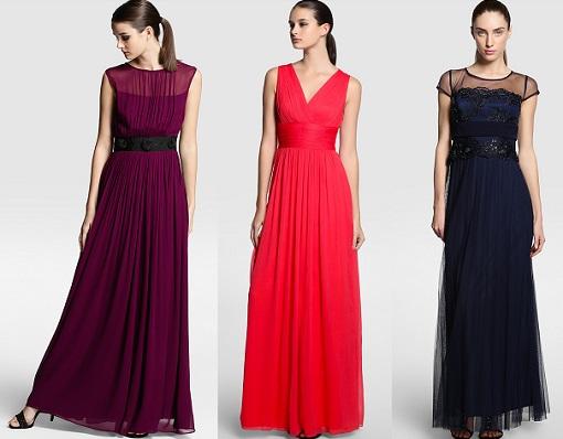 vestidos largos el corte inglés 2015