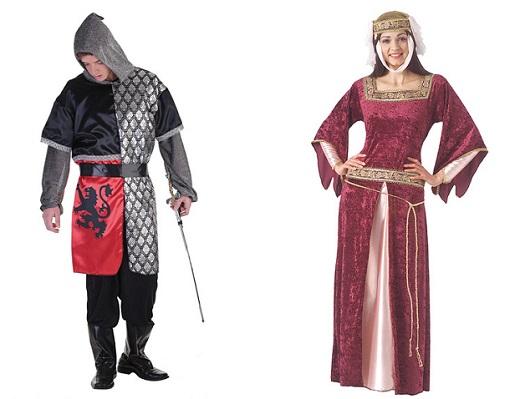 disfraces medievales el corte inglés