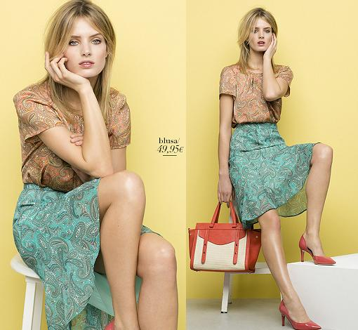 catalogo antea moda primavera verano 2015 faldas