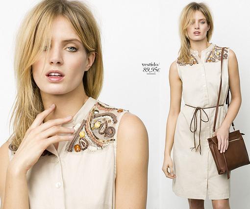 catalogo antea moda primavera verano 2015 vestidos camiseros