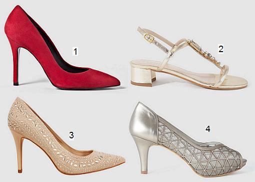 zapatos de fiesta en el corte ingl s primavera verano 2015
