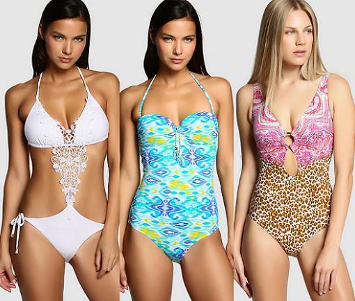 Bikinis Y Banadores Enfasis 2015 De El Corte Ingles Moda Bano A