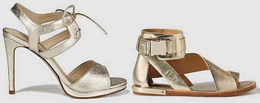 sandalias doradas el corte ingles mujer 2015