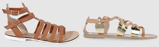 sandalias romanas el corte ingles primavera verano 2015
