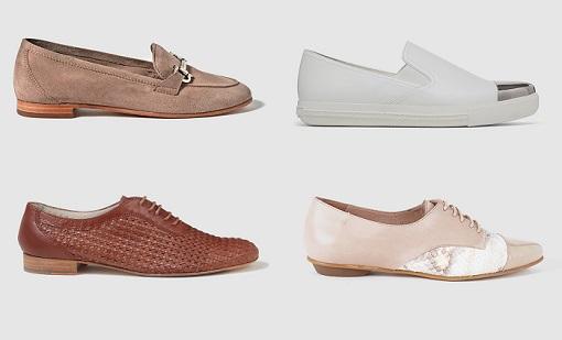 zapatos planos el corte inglés