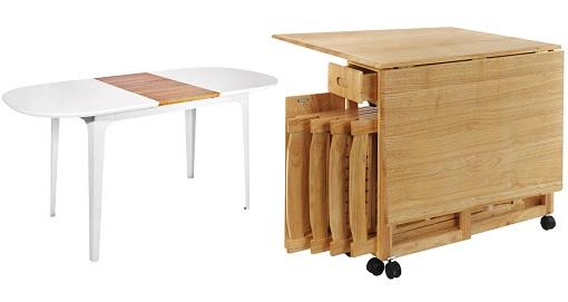 10 mesas de cocina el corte ingl s para crear una zona de - Mesas de cocina plegables de pared ...