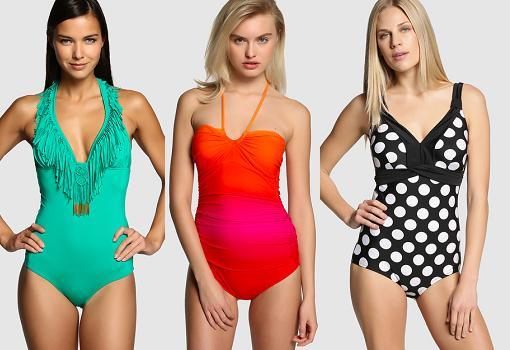 moda baño el corte ingles 2015 bañadores-mujer
