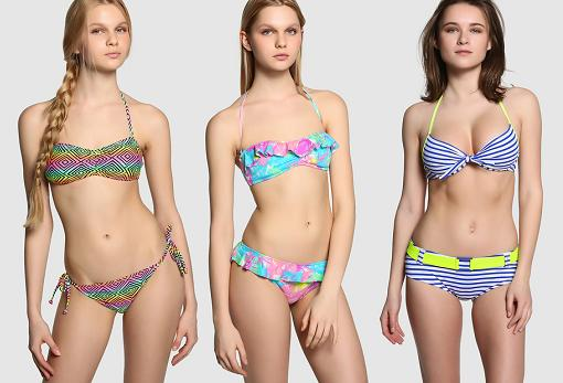 moda baño el corte ingles 2015 bikinis chica
