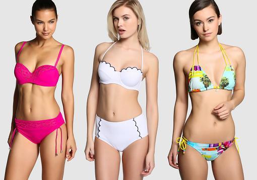 moda baño el corte ingles 2015 bikinis señora