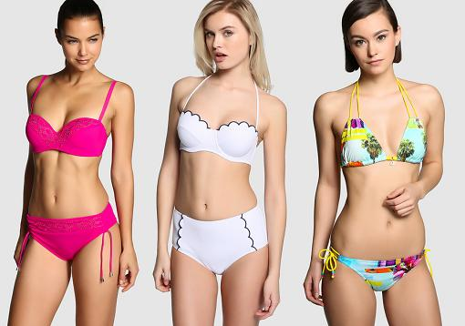 Moda Ba O El Corte Ingles 2015 Bikinis Push Up Trikinis