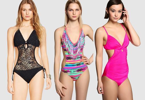 c598b08330e7 Moda baño El Corte Ingles 2015: bikinis push up, trikinis ...