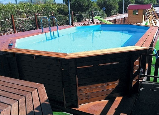 piscina de madera el corte inglés