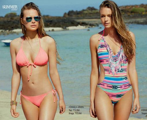 summertime bikiniis el corte ingles moda joven 2015