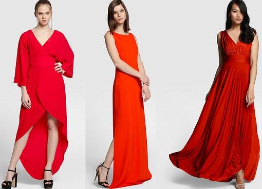 Vestidos de fiesta rojos corte ingles