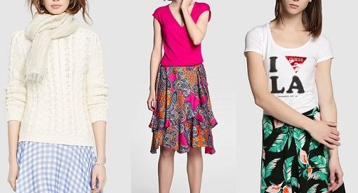 faldas de moda el corte inglés