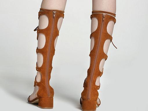sandalias romanas altas gloria ortiz