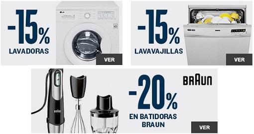 electrodomésticos hipercor 2015
