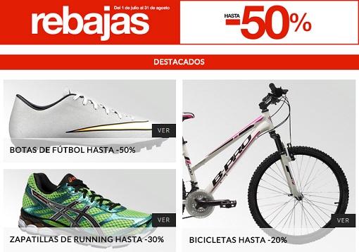 elige el más nuevo comprar nuevo varios tipos de Rebajas deportes El Corte Inglés 2015: los descuentos que no ...