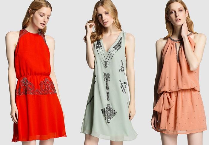 vestidos de fiesta cortos tintoretto