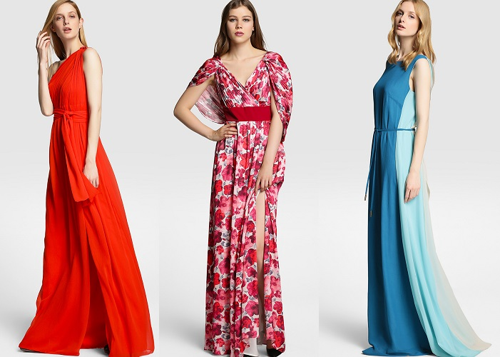 vestidos de fiesta tintoretto otoño 2015