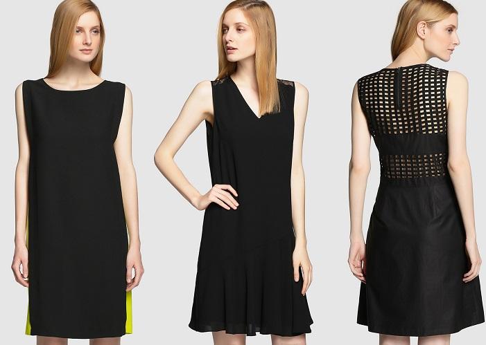 vestidos negros tintoretto