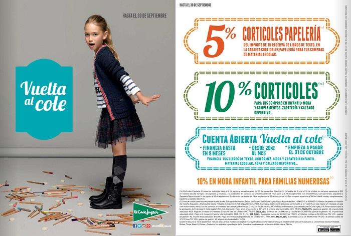 catálogo Vuelta al cole El Corte Inglés 2015