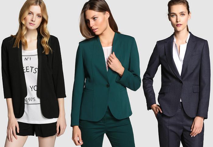 chaquetas americanas el corte ingles 2015 mujer