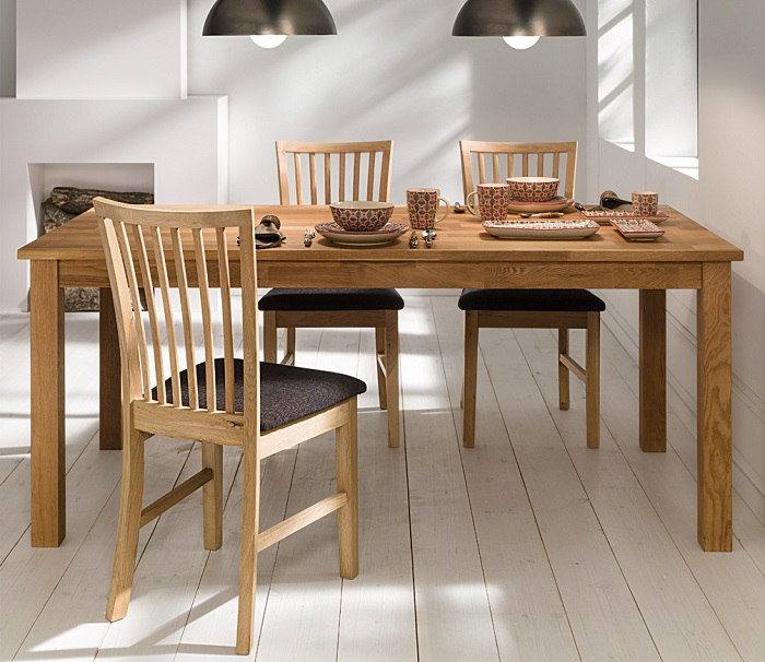 10 mesas de comedor el corte ingl s de madera de cristal for Mesas de comedor redondas extensibles de madera