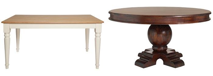 10 mesas de comedor El Corte Inglés: de madera, de cristal ...