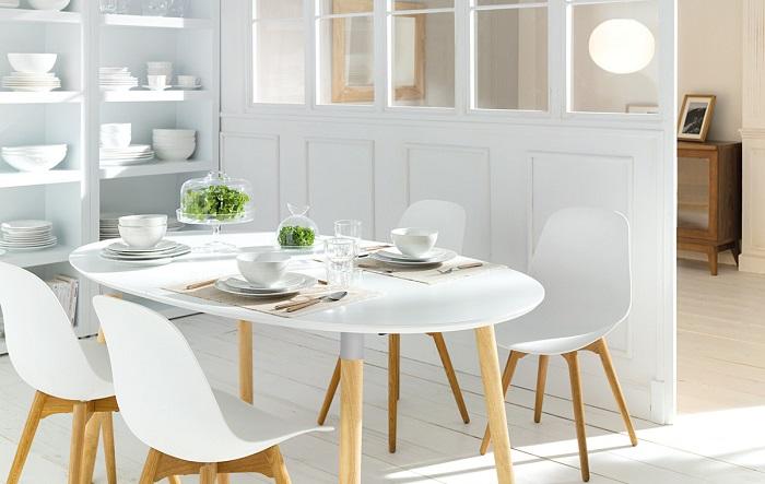 10 mesas de comedor el corte ingl s de madera de cristal for Mesas redondas para comedor modernas
