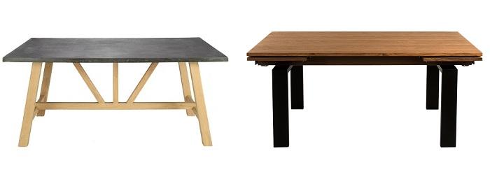 Mesas modernas el corte inglés