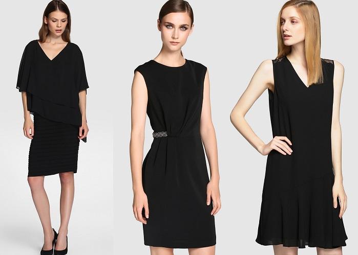 vestidos negros el corte inglés