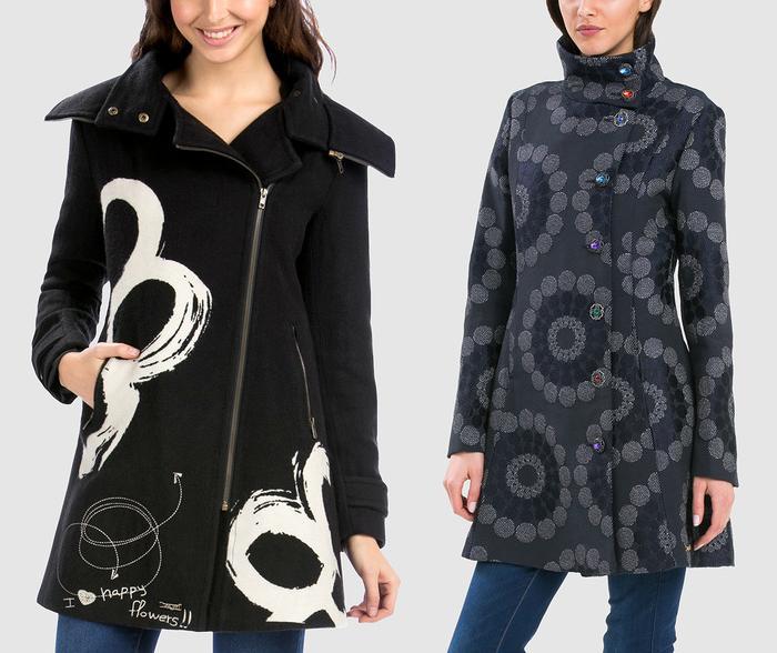 abrigos desigual moda otoño invierno 2015 2016