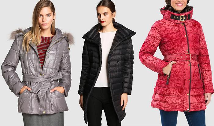 abrigos plumiferos mujer el corte ingles otoño 2015