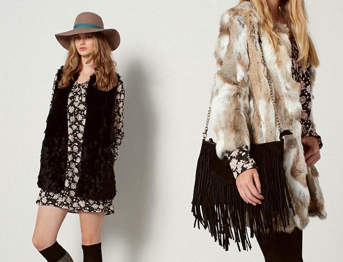 easy wear otoño invierno 2015 2016 abrigos de pelo sintéticos años 70