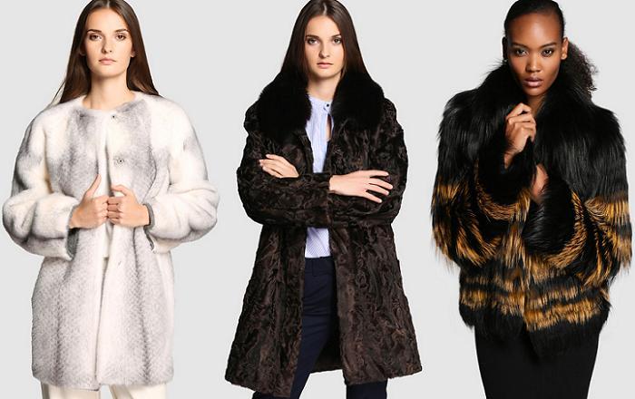 abrigos de pelo el corte ingles moda 2015 2016
